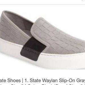 1.  State Wayland slip on sneaker